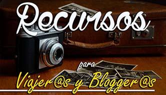 Recursos para viajeros y bloggers