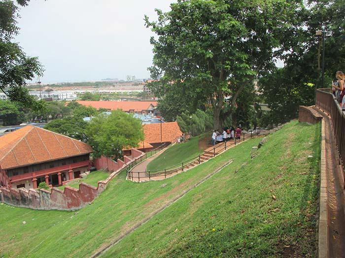 Fuerte-de-Melaka-Porta-de-Santiago-3