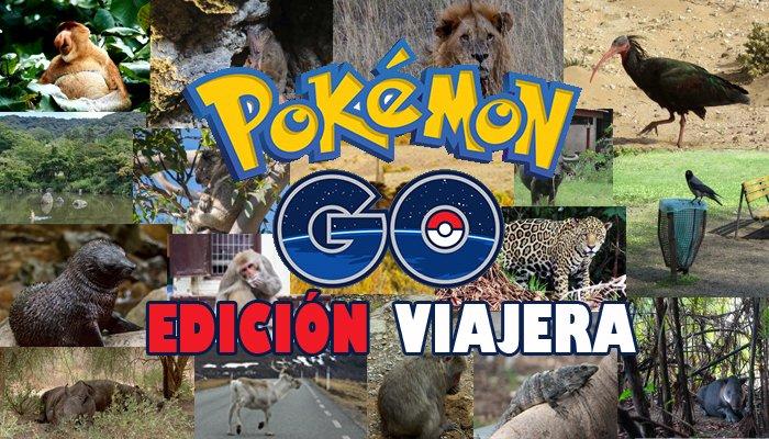 Pokemon Go Edición viajera Nos vamos de Rutica